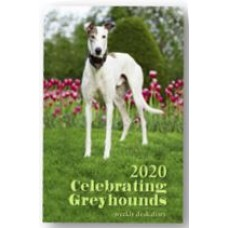 2020 Celebrating Greyhounds Desk Calendar