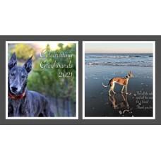2021 Celebrating Greyhounds Wall Calendar