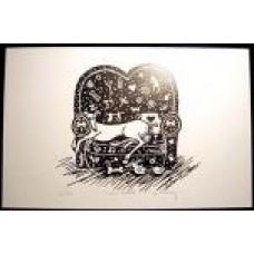 Couch Potato - 11x17 Print