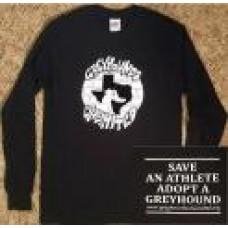 GU Graffiti Style Logo - Unisex Long Sleeve T-Shirt (Black)