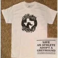GU Graffiti Style Logo - Unisex Short Sleeve T-Shirt (White)