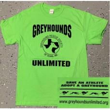 GU Logo T-Shirt - Lime