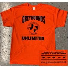 GU Logo T-Shirt: Orange