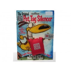 Quite Spot Tag Silencer - Red