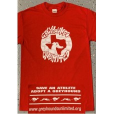 GU Graffiti Style Logo - Unisex Long Sleeve T-Shirt (Red)