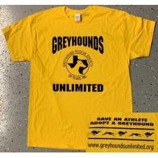 GU Logo T-Shirt: Daisy Yellow